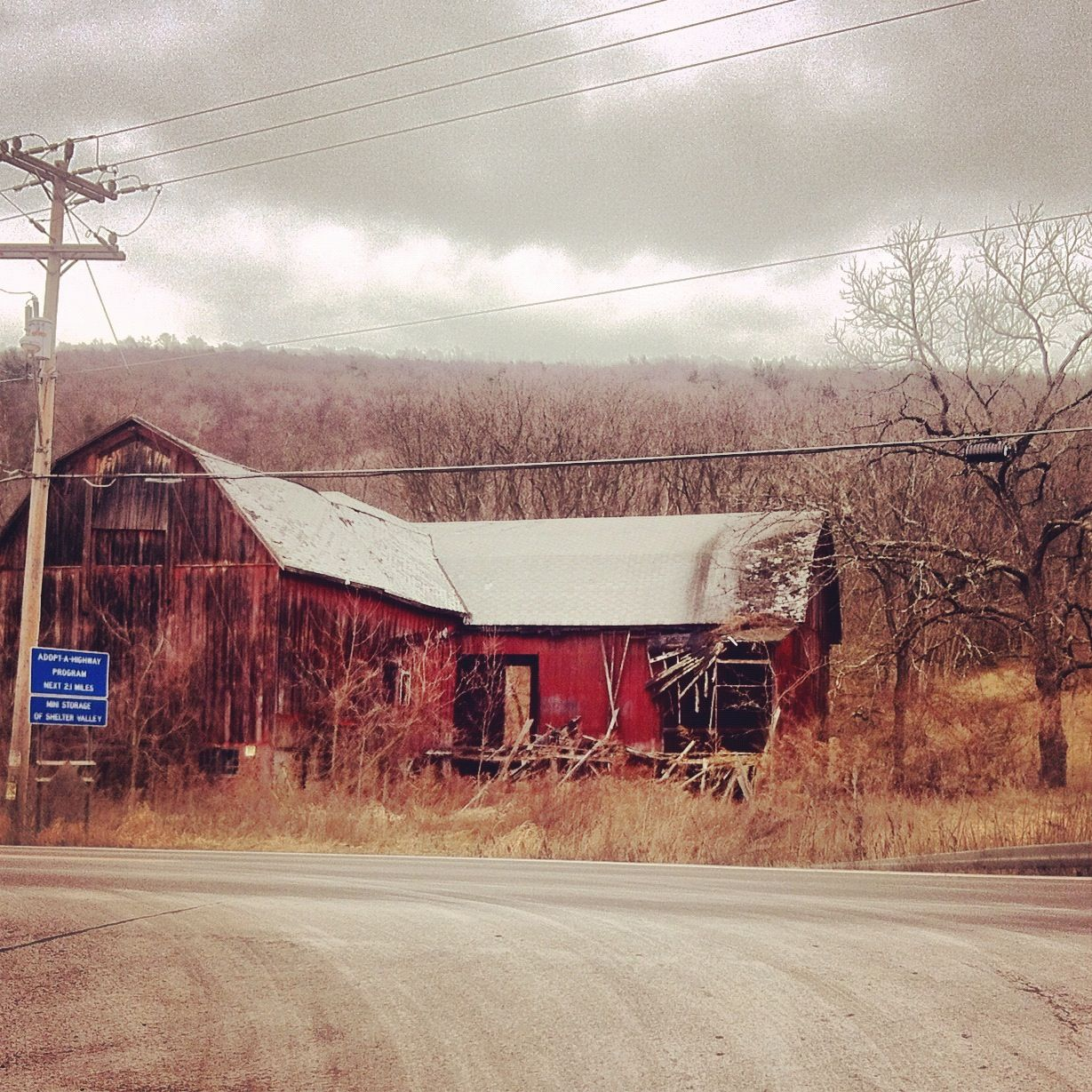Abandoned: Big Red. Upstate NY, 2012