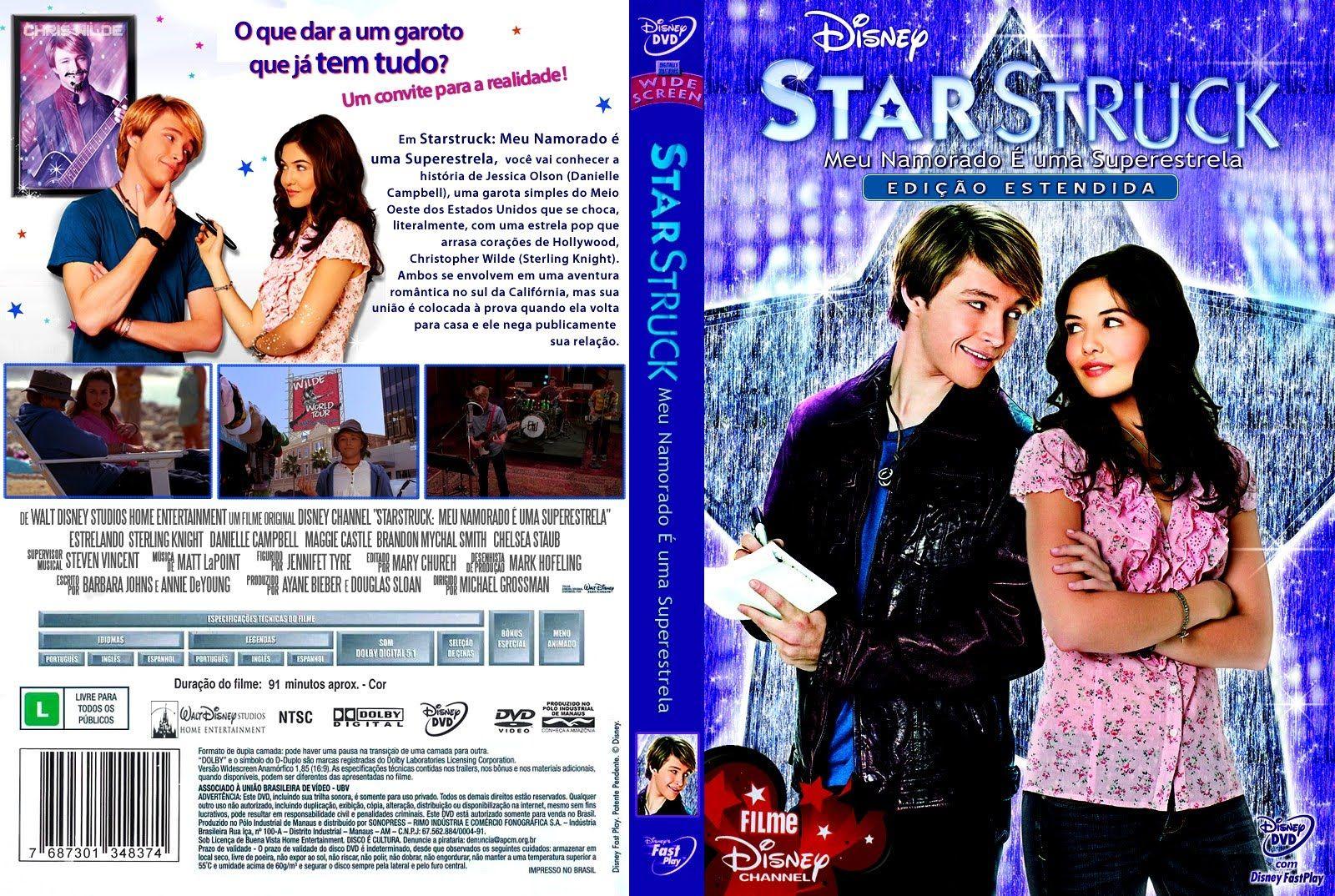Disney Starstruck | Super Disney: Capa do Dvd de StarStruck