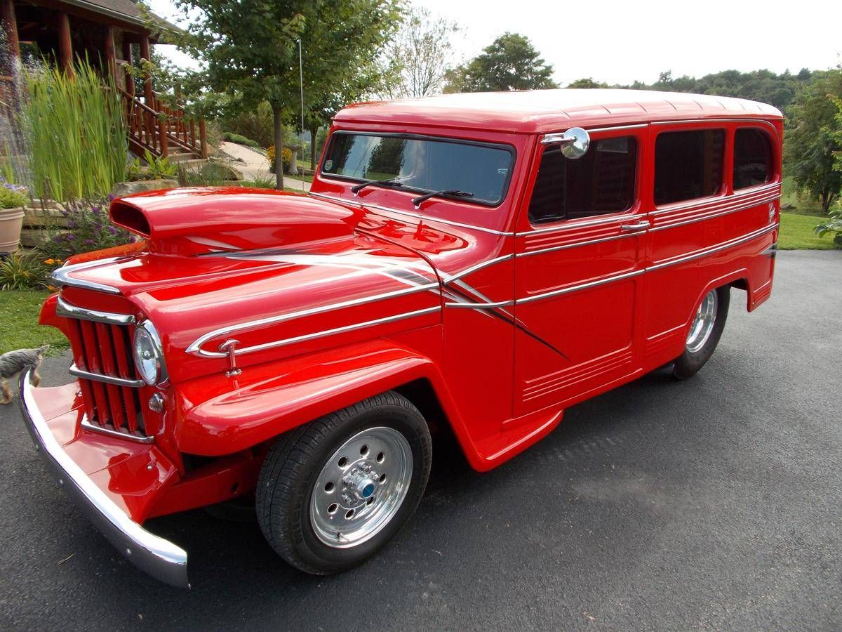 1960 willys jeep prostreet