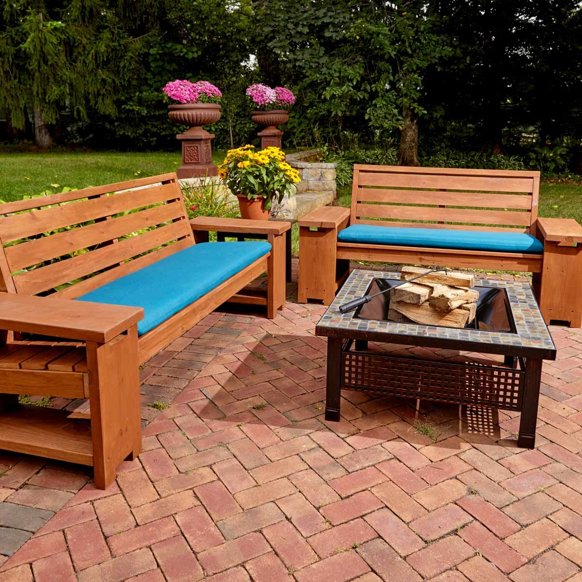 40 Outdoor Woodworking Projects For Beginners: 10 Easy Wooden Lawn Chairs & Benches To Build