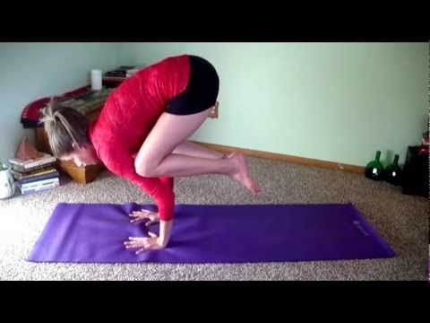 how to do crow pose 2 minutes advanced yoga poses made