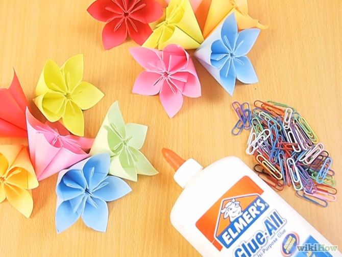 How to Fold a Simple Origami Flower: 12 Steps (with Pictures) | 503x670