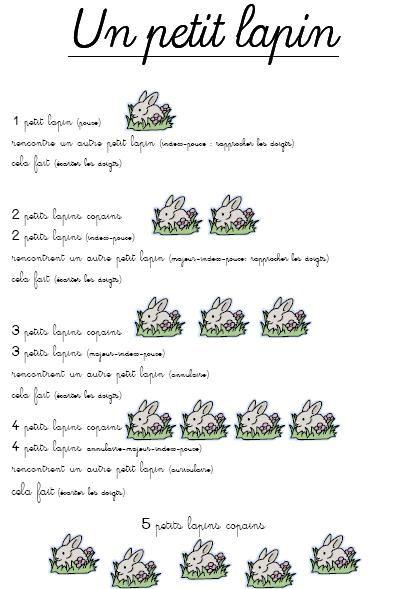 Un petit lapin image only comptine et chant - Mon petit lapin s est cache dans le jardin paroles ...