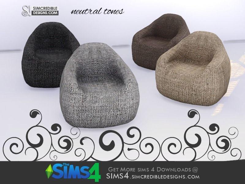 SIMcredible!'s Come cozy armchair