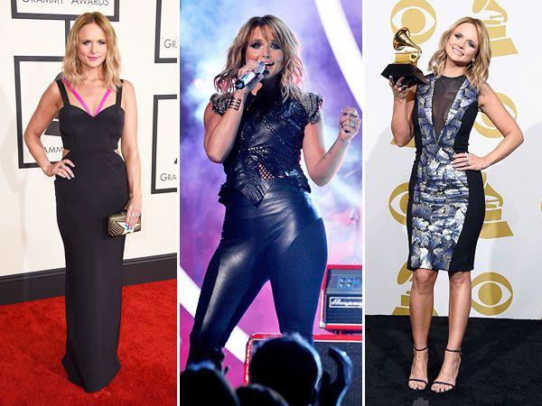 Miranda's Grammy 2015 hair