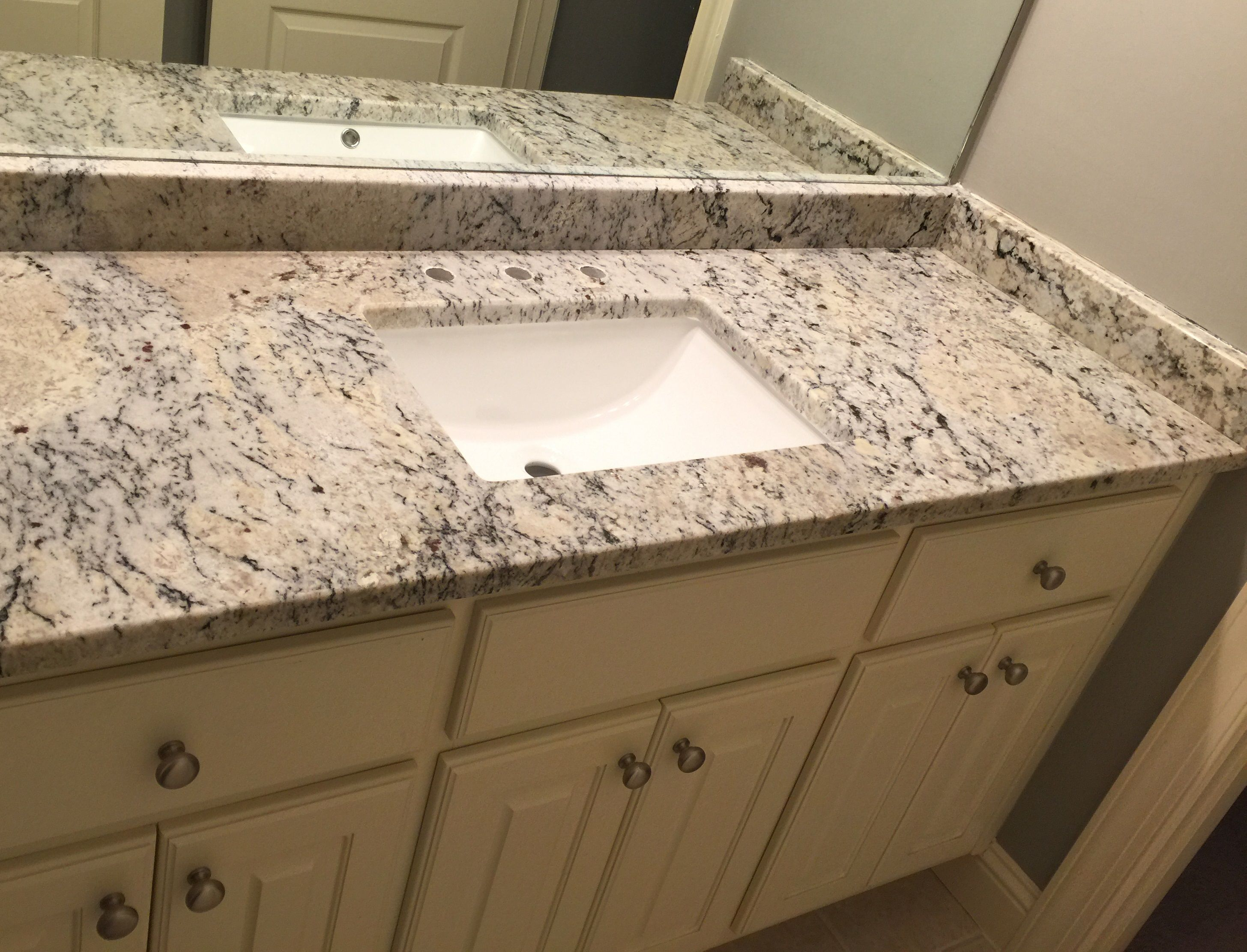 - Type Of Job: Vanity Top Material: Granite Color: New Venetian Gold