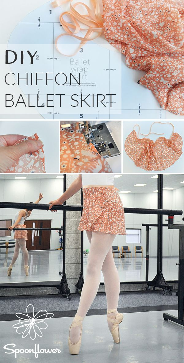 91008aa79 This DIY Chiffon Ballet Skirt is On Pointe | Pattern Included - Our newest  fabric, Chiffon, is making its center stage DIY debut today with the help  of ...
