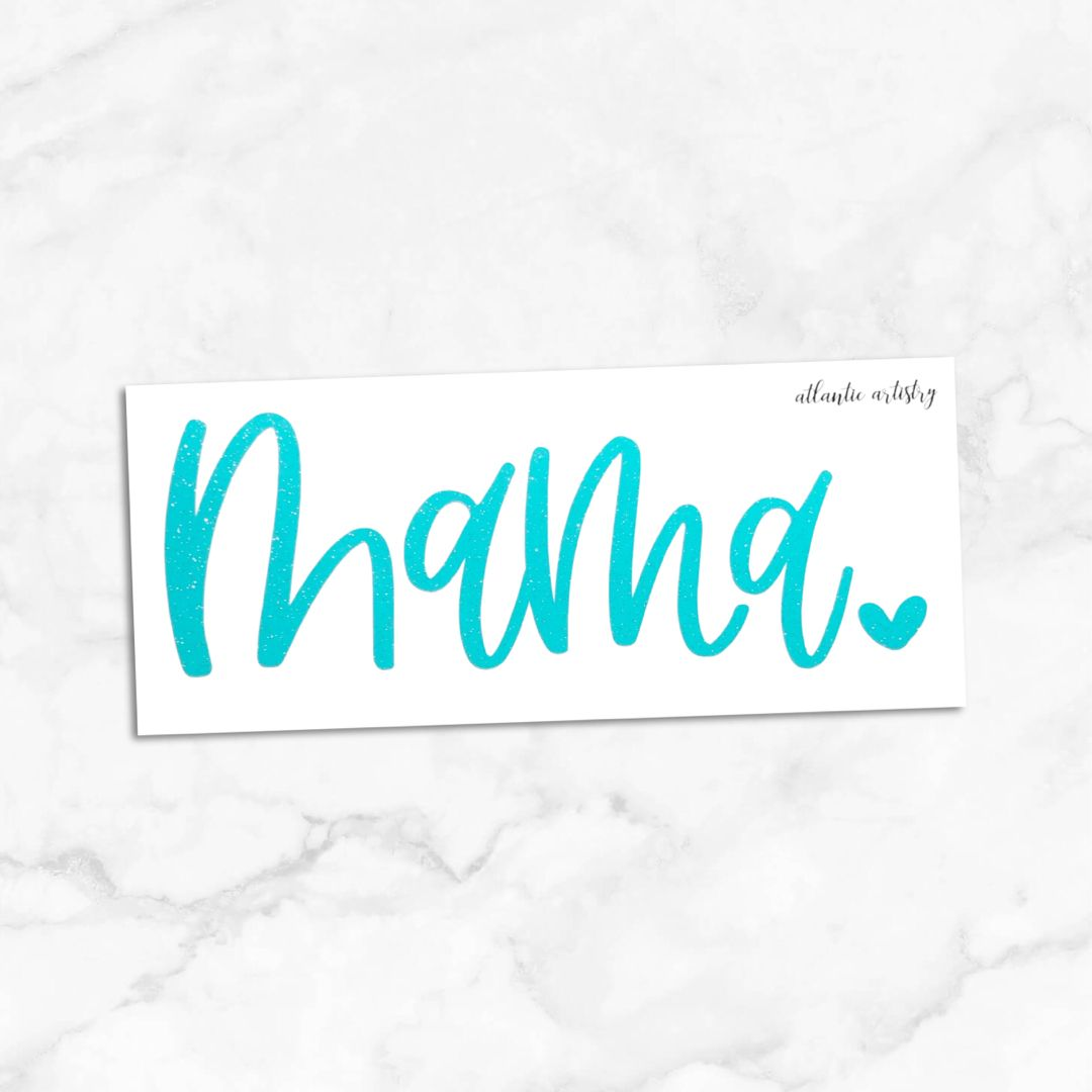 Glitter Mama Vinyl Decal Mama Sticker For Car Laptop Etsy Vinyl Decals Tumbler Decal Hydroflask Stickers [ 1080 x 1080 Pixel ]