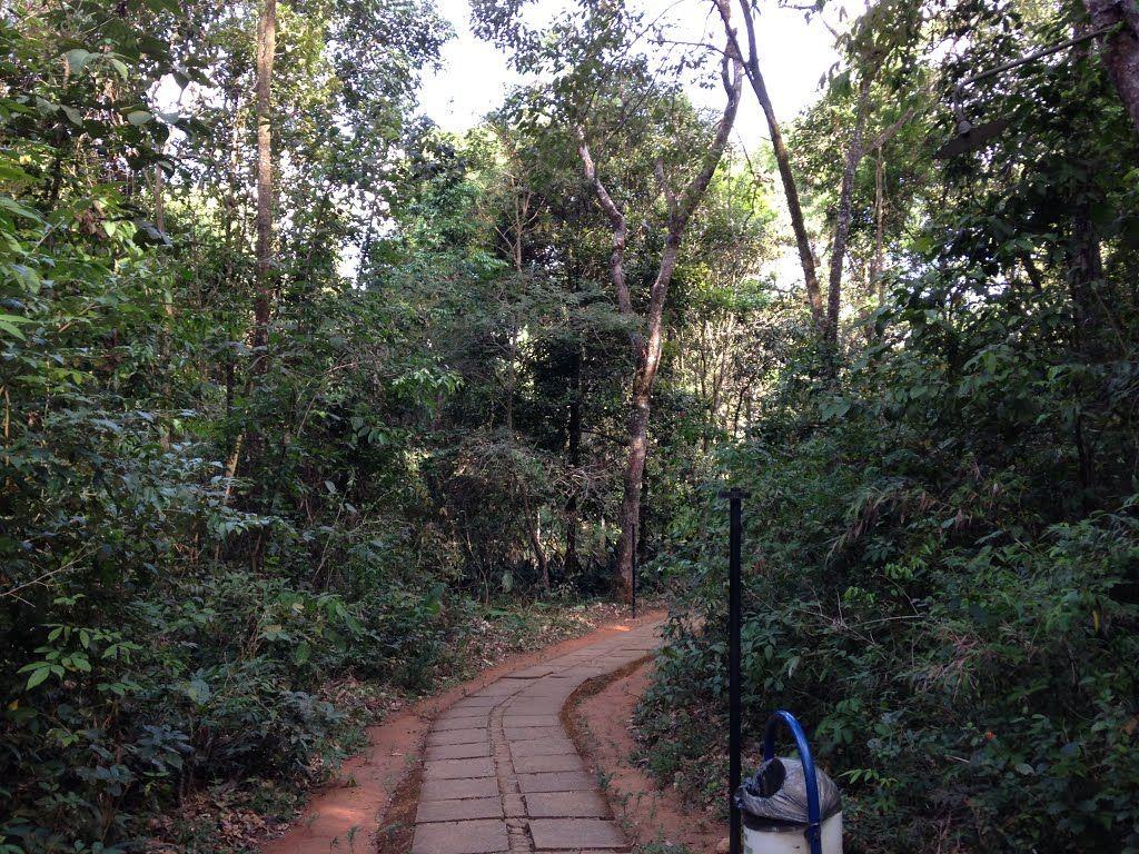 Horto florestal do Catetinho, primeira residência do Presidente da República em Brasília.
