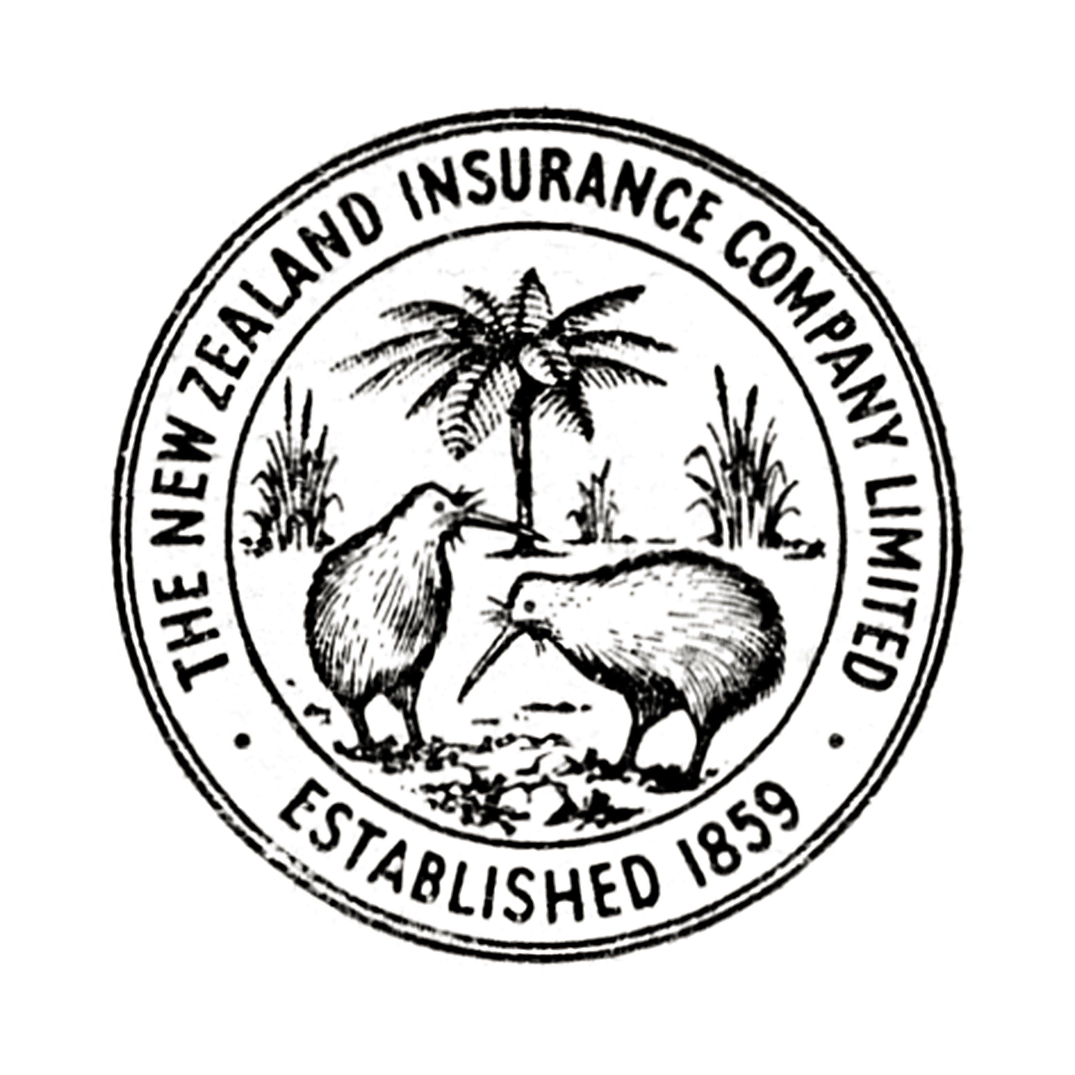 New Zealand Insurance Press Advertisement Featuring Kiwi Bird