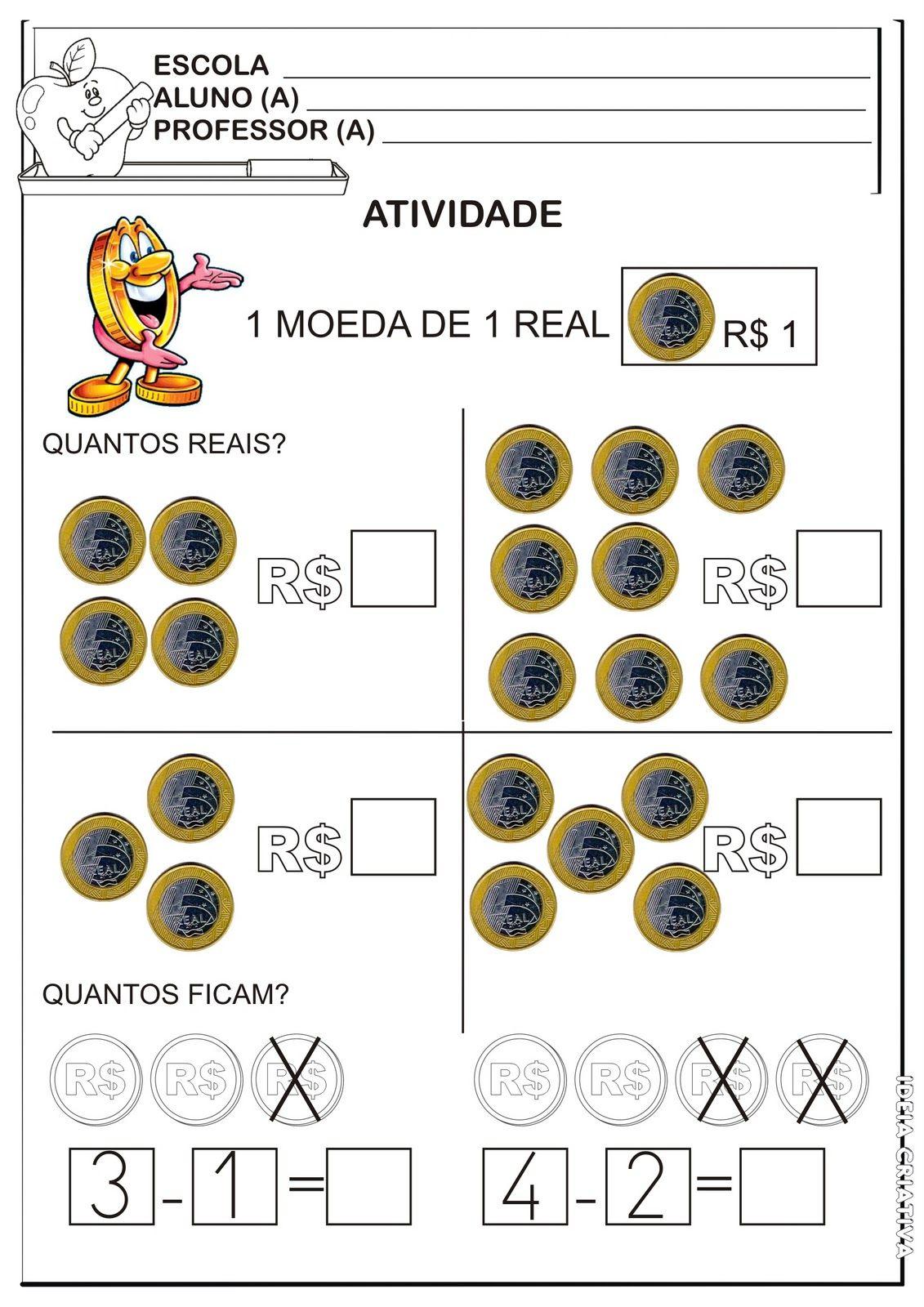 Preferência atividade+sistema+monetário+1º+ano.jpg (1131×1600)   sistema  IV62