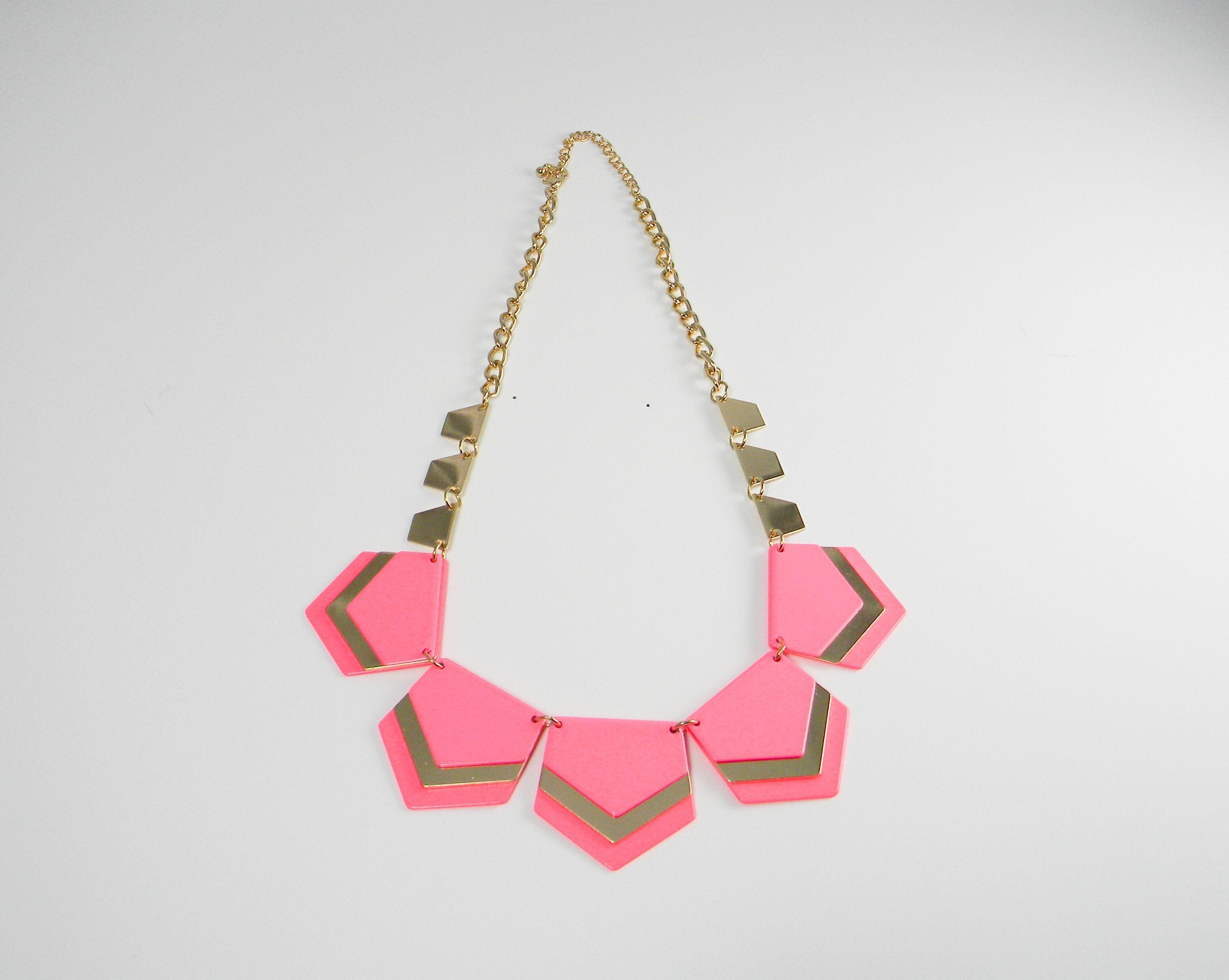 #necklace #jewelry #fashion #style #glamour #fashionwoman #moda #pink