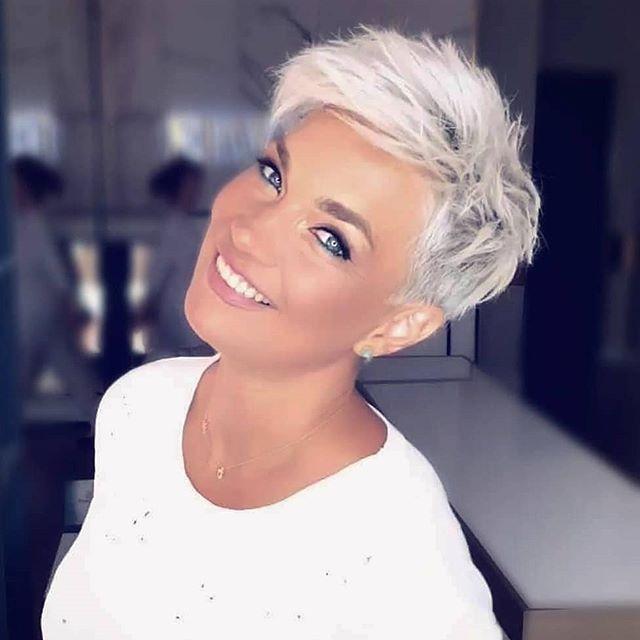 80 Trendige Kurzhaarfrisuren Die Sie Zum Wow Sagen Werden In 2020 Rocker Hair Short Hair Trends Short Hair Styles