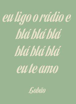 rádio blá - lobão