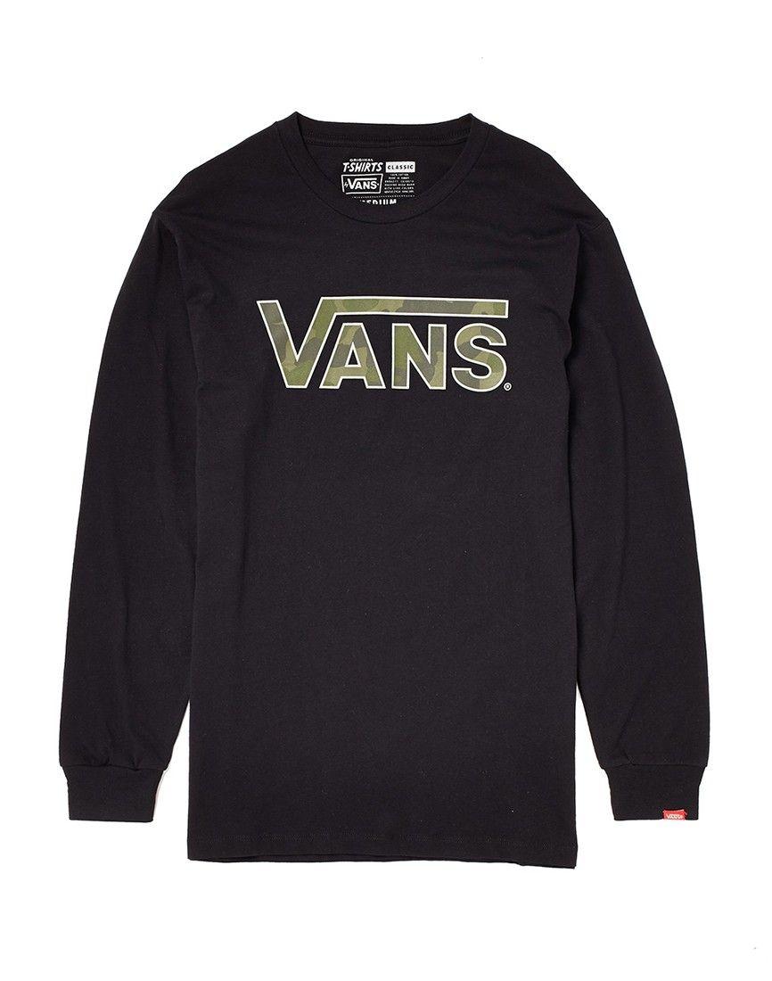 vans camo sweatshirt