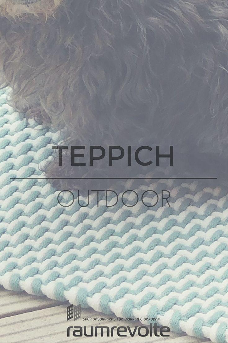 Dieser Outdoor-Teppich von pad begeistert auch Hundepfoten | Kleinen ...