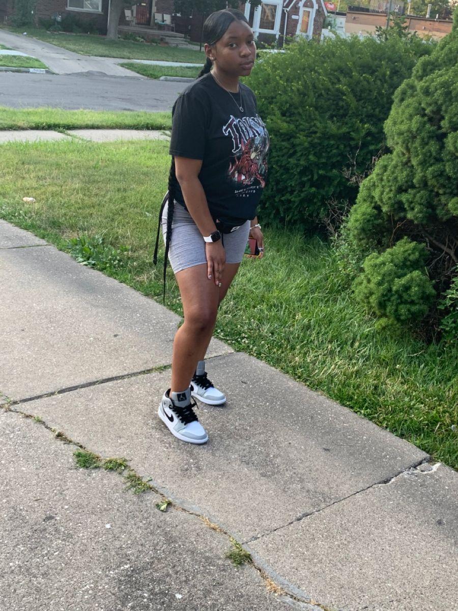jordan 1 and shorts