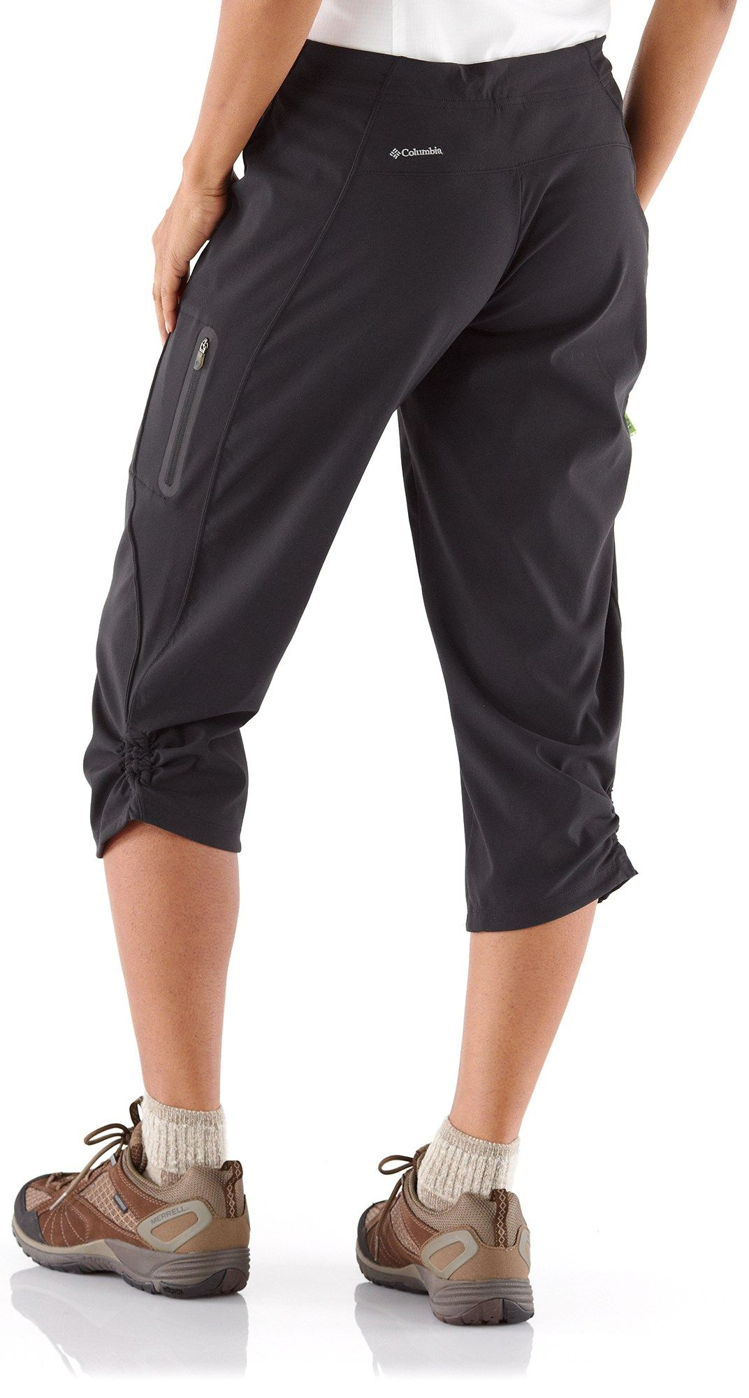 fe2999659bff9 Columbia Just Right Capri Pants - Women's - New hiking pants. grey of course