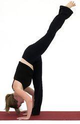 how to do down dog split  standing split yoga for