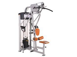 Máquina de musculación dual Lat Pull Down/Mid Row DF103 de SportsArt.