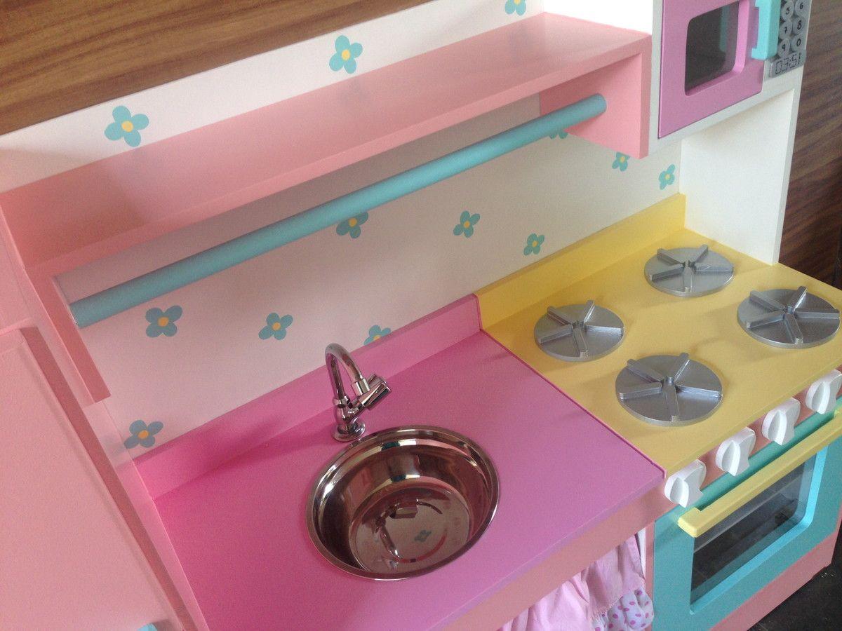 Cozinha Infantil Integrada Helena Pinterest Cozinha Infantil
