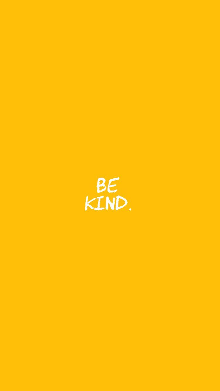 Follow my board for more such edits!! #bekind #kindness #yellow#aesthetic #MellowYellow | Insta ...