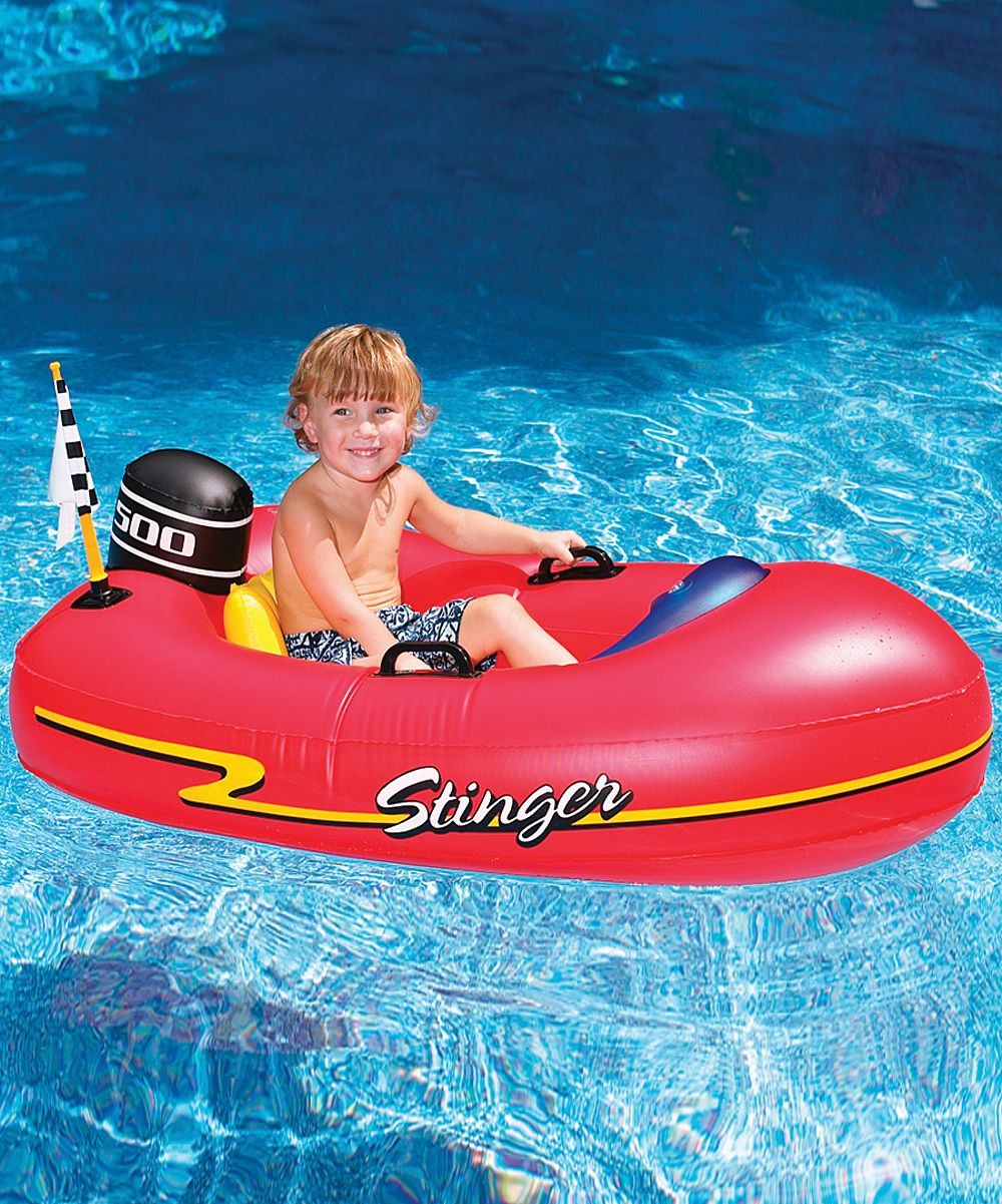 Speedboat Pool Float | Products | Inflatable pool toys, Pool ...