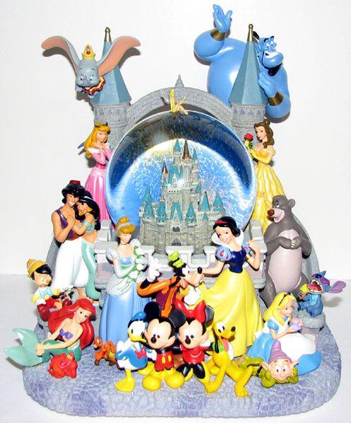 Disney Snow Globe Wishes Disney Snow Globes Disney