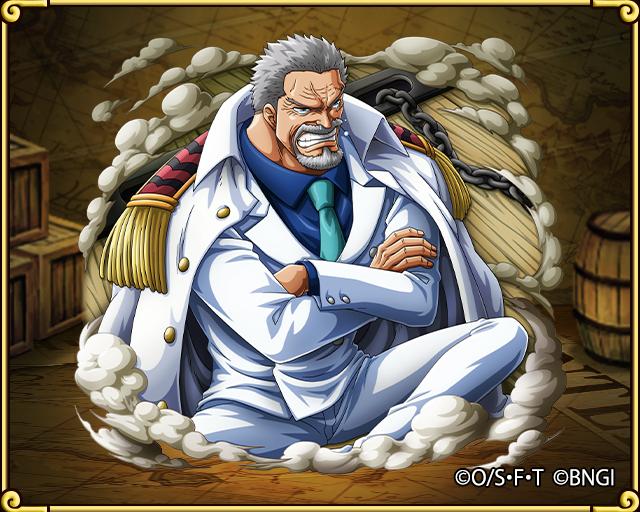 Garp Navy HQ Vice Admiral Dessin manga, One pièce manga