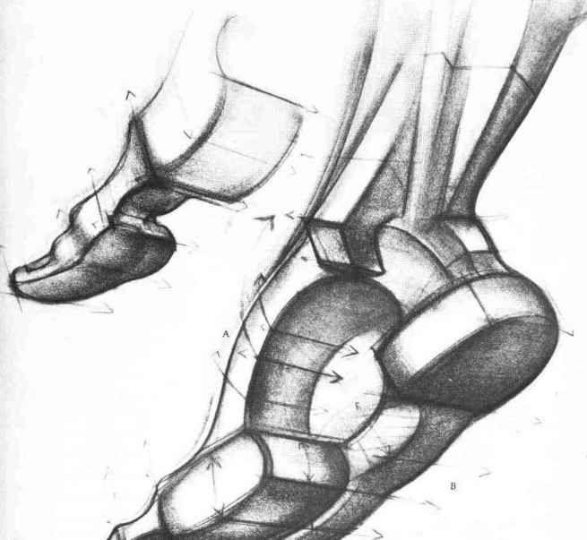 Foot Diagram Instep Painting Pinterest Wedges Figure Drawing