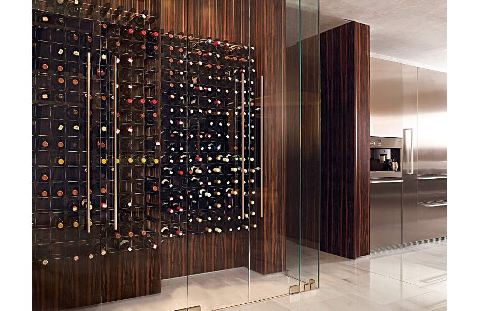 Pin By Luxe Interiors Design Magazi On Luxe Wine Rooms Wine Cellar Design Home Wine Cellars Cellar Design