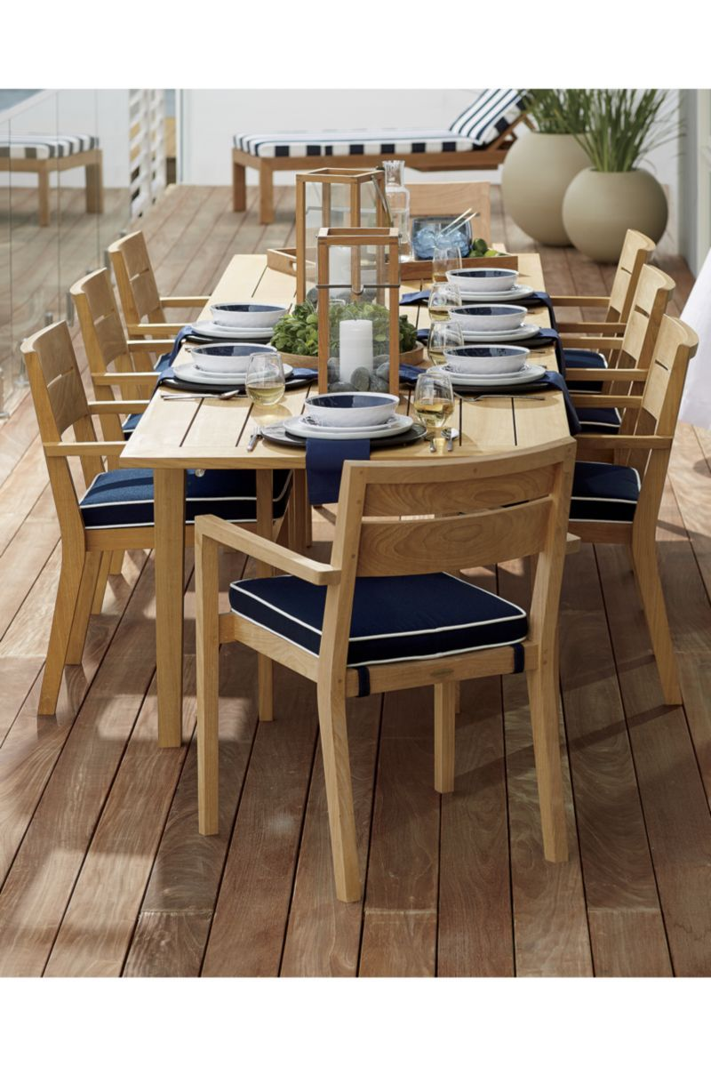 Regatta extension dining table crate and barrel extensions