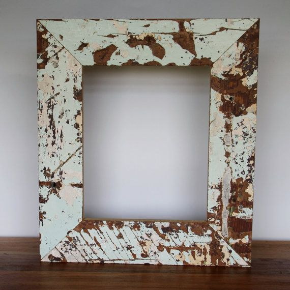 Reclaimed Wood Frame- New Orleans Salvaged Cypress. Colors not ...