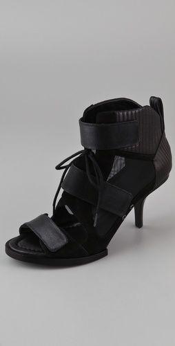 Alexander Wang shoes ... rock them with a killer short skirt