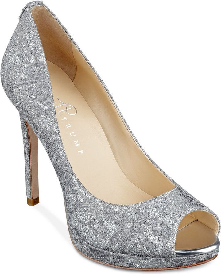 Ivanka Trump Maggie 2 Platform Evening Pumps http://www.shopstyle.com