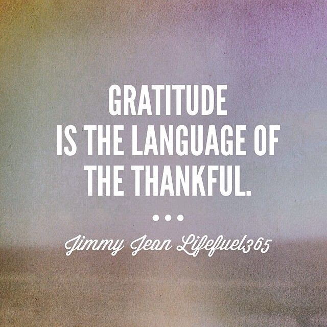 Merveilleux Gratitude Is The Language Of The Thankful Quotes Quote Inspirational Quotes  Gratitude Thankful Instagram Instagram Pictures