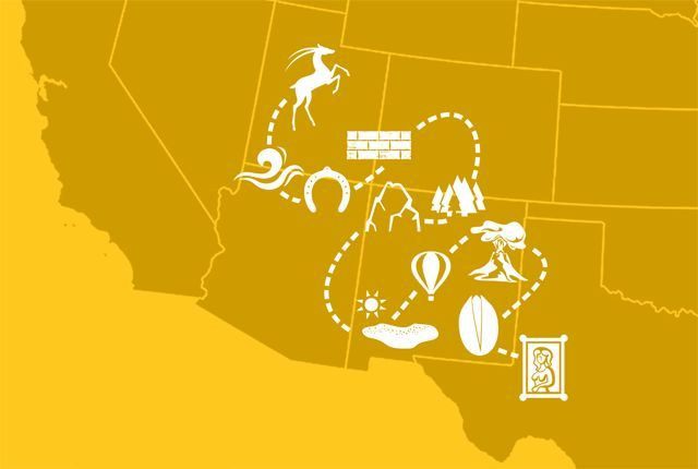 11 Hidden Gems on the Ultimate Road Trip Through the Southwest | Mental Floss