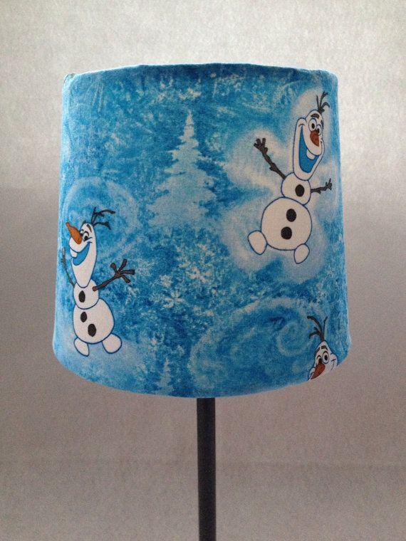 Disney's Frozen Olaf Lamp by BoxOfScraps on Etsy | frozen ...