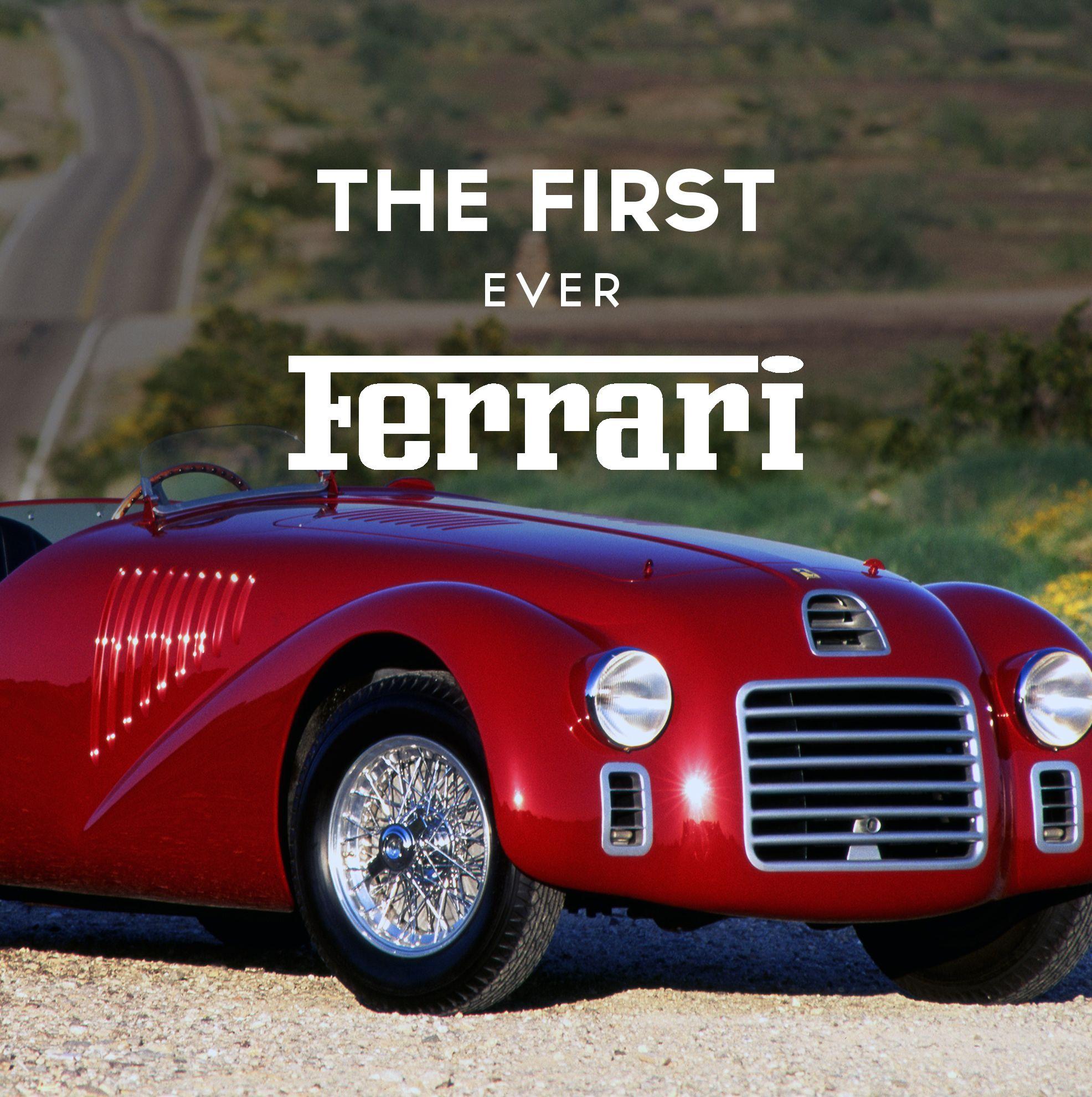 The Story Of The First Ferrari 125c 125s Ferrari Racing Team Classic Cars