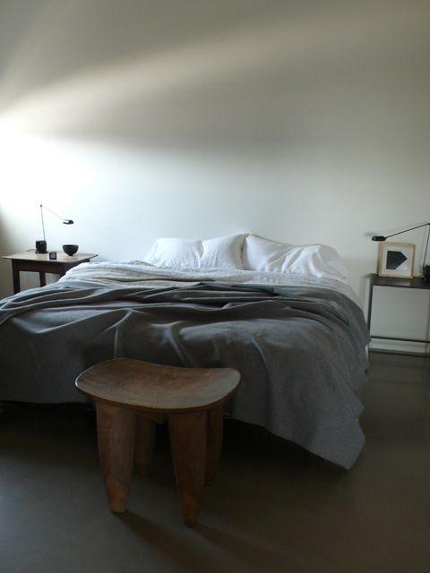Richard Ostell, white bedroom