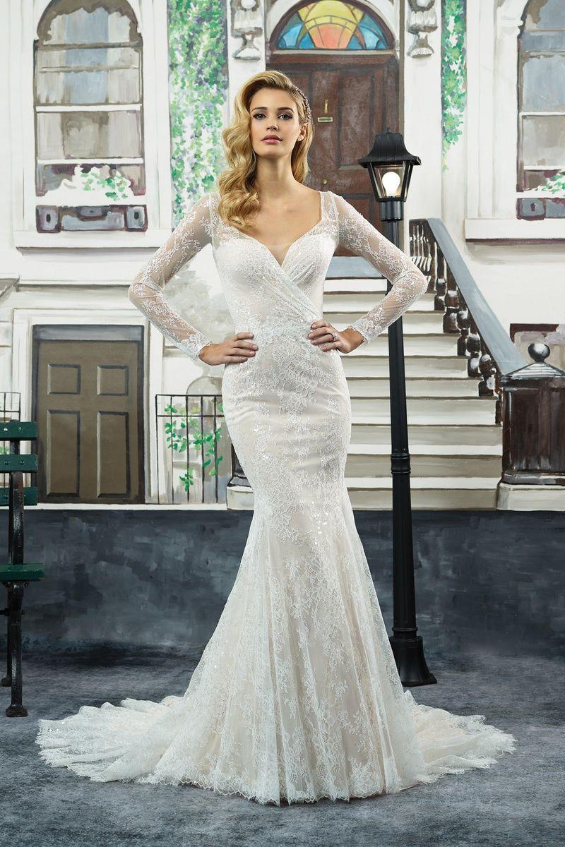 40 Swoon-Worthy Long Sleeve Wedding Dresses | Ohnmacht, Kleider ...
