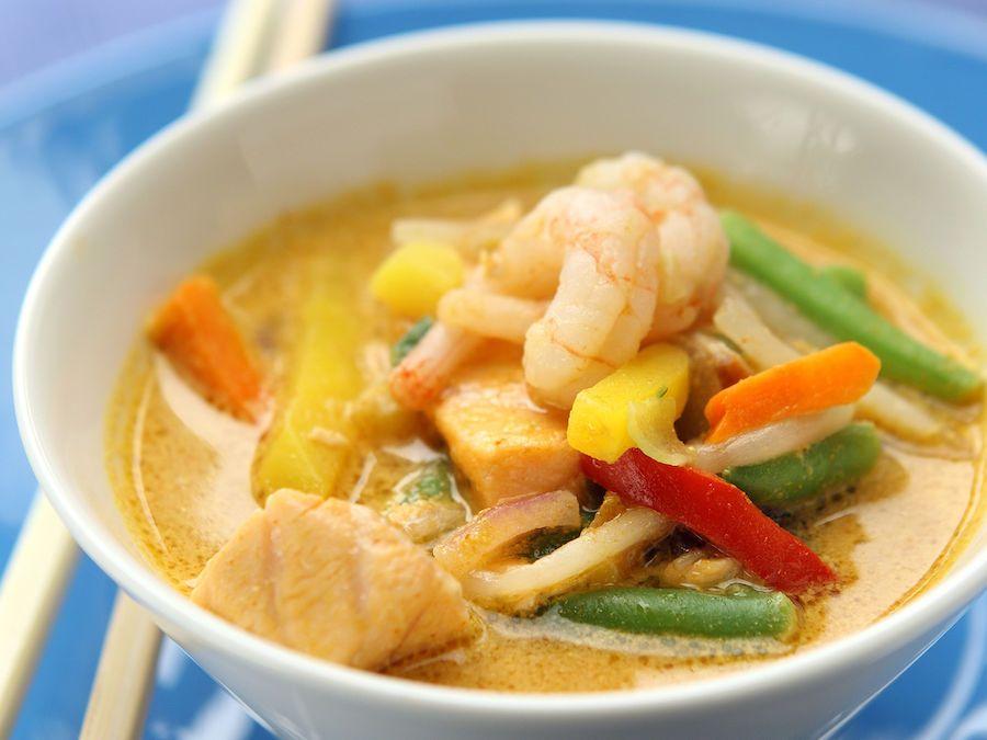 Thai-lohikeitto - Reseptit