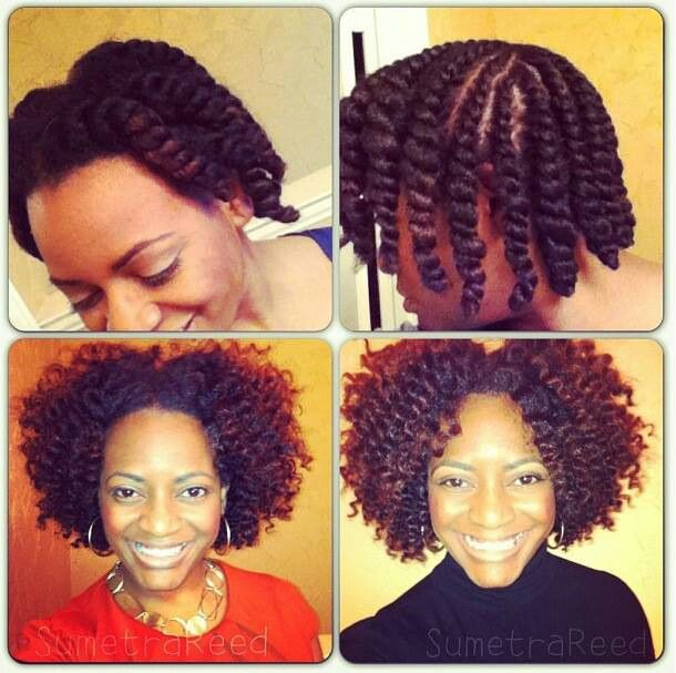 Pretty Flat Twist Out Curlsbylala Natural Hair Styles Hair Styles Curly Hair Styles