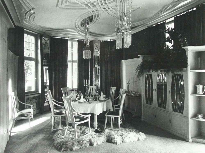 Peter Behrens Dining Room 1901 Darmstadt Germany Art Nouveau Interior Behrens Architecture Interior Architecture Design