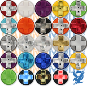 Transforming D-pads are available in 24 different colors and can be