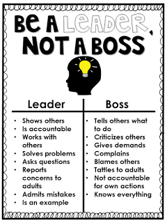 Miss Behavior: First Days of School: Teaching Leadership