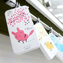Happymori Color Characters Full CaseHappyMori specializes in quality cell phone cases designed at the design studio in South Korea. You