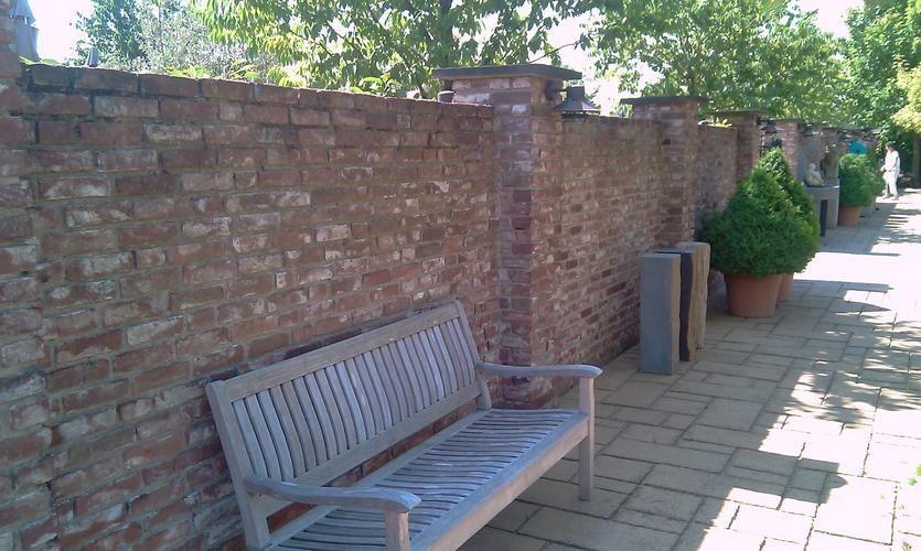 Stenen Muur Tuin : Stenen voor muur in tuin modern metselen van tuinmuur werkspot