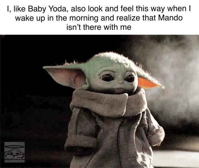 Pin By Anni Esco On Baby Yoda In 2020 Yoda Meme Star Wars Memes Star Wars Yoda