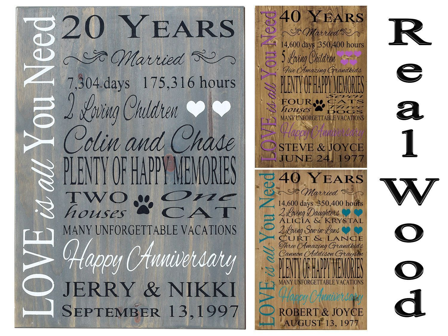 Swanky Parents 40th Anniversary Gifts Parents Ideas Ruby Wedding Anniversary Ruby Wedding Anniversary Anniversary Gifts